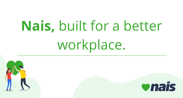 blog title of nais built for a better workplace